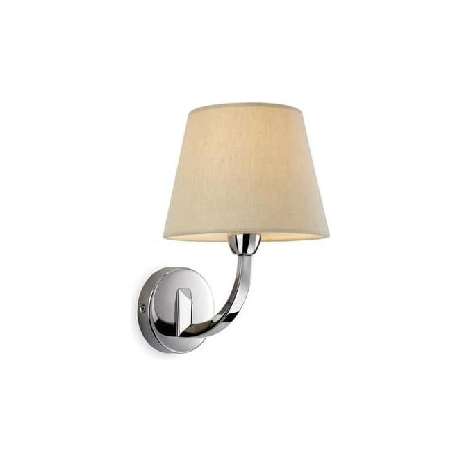 FirstLight 2319PST Fairmont 1 Light Wall Light Polished Stainless Steel