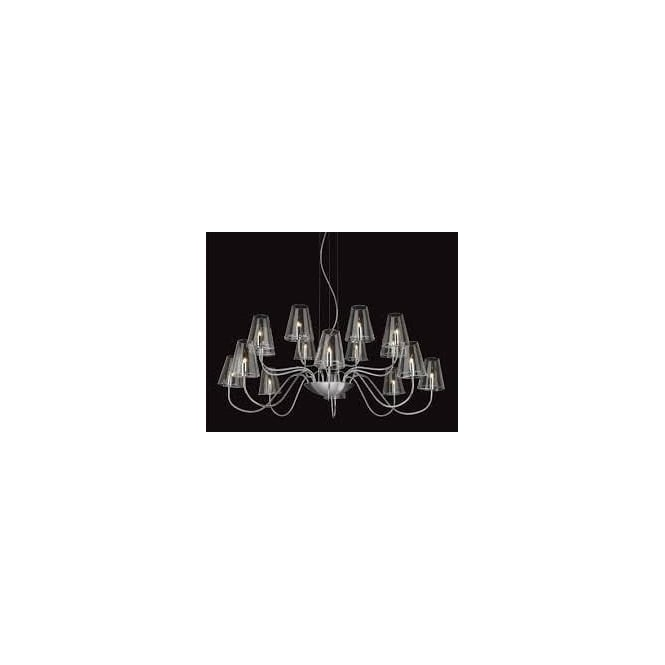 FirstLight 4235CH Jasmine 16 Light Ceiling Light