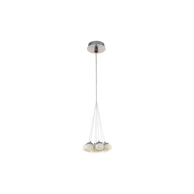 Eglo 94328 Poldras 7 Light Ceiling Light Chrome