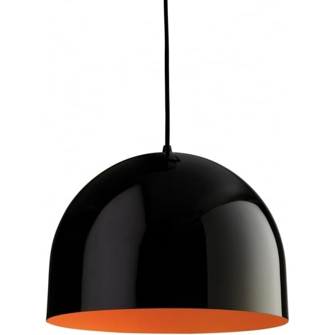 FirstLight 8624BKOR House 1 Light Ceiling Black