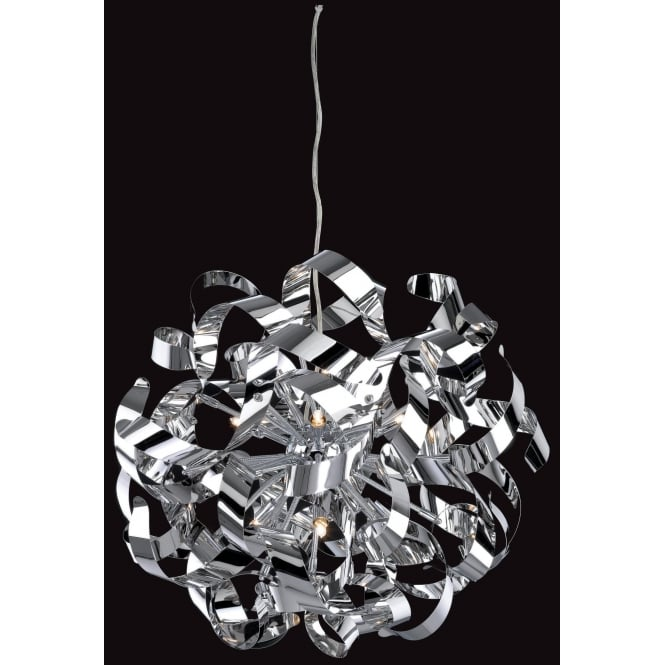 FirstLight 4245CH Ribbon Ceiling Pendant Polished Chrome