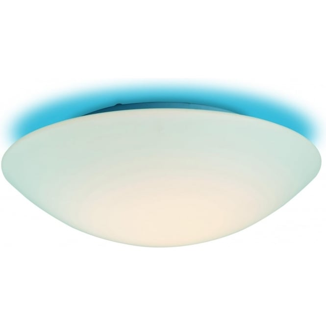 FirstLight CF10BL Disc 1 Light Flush Ceiling Light Opal