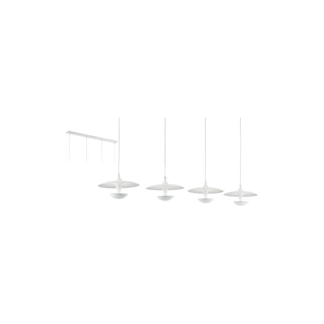 Eglo 95961 Toronja 4 Light Ceiling Light White