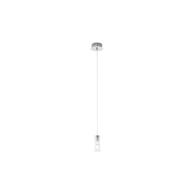 Eglo 94478 Pancento 1 Light Ceiling Light Polished Chrome