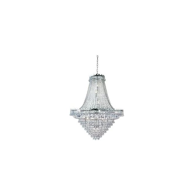 Searchlight 9112-102CC Versailles 19 Light Chandelier Polished Chrome