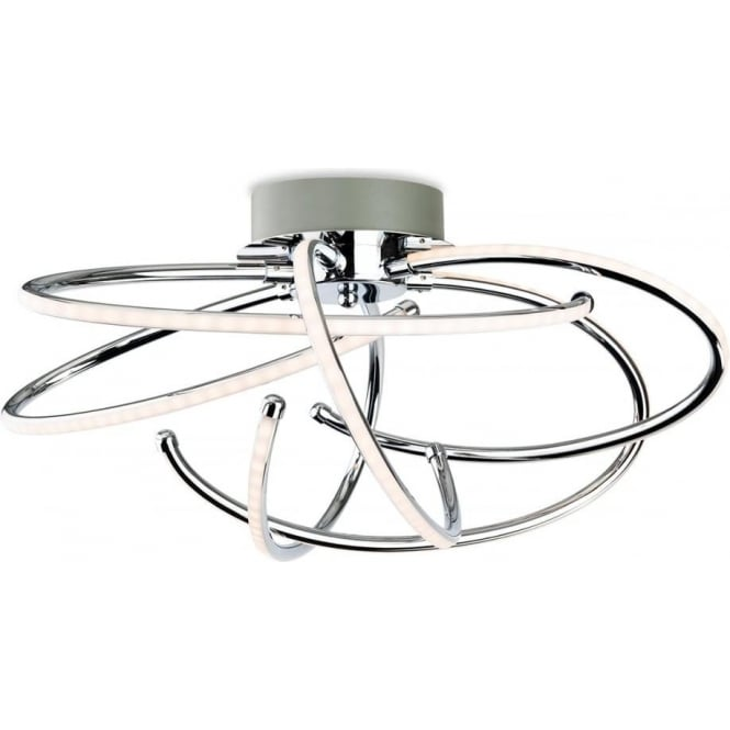 Caprice LED Flush Ceiling Pendant 4851CH
