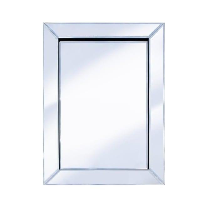 Pharmore 60cm x 80cm mitre edge mirror for Mirror 60cm x 80cm