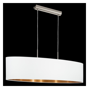 95047 Pasteri 2 Light Pendant Matt White