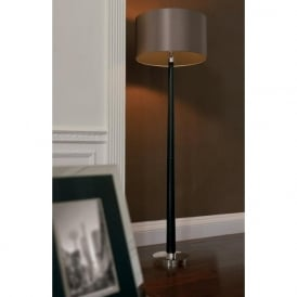 Chasselas Envisage 1 Light Floor Lamp Wood mink