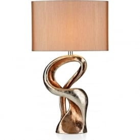 ALC4335/X Alchemy 1 Light Gold Table Lamp