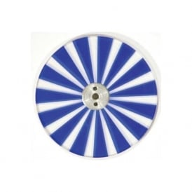 Colour Wheel WBLWT blue and clear metal twinkle wheel suitable for 50, 75, 100 and 150 watt sources