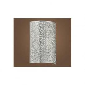 90076 ALMERA 1 1 light modern wall light nickel matt finish