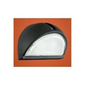 89767 Onja 1 light outdoor wall light black finish IP44 rated