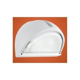 89768 Onja 1 light outdoor wall light white finish IP44 rated