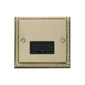 Georgian Cast Brass GCBR650 13A Fused Connection Unit
