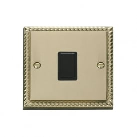 Georgian Cast Brass GCBR622 20A DP Switch