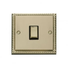 Georgian Cast Brass GCBR722 20A Ingot DP Switch