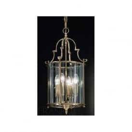 LA7010/4 Montagu 4 Light Ceiling Lantern Bronze