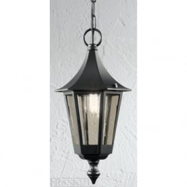 LA1601-1 Boulevard 1 Light Outdoor Lantern Italian Matt Black IP43