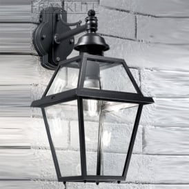 EXT6601 Nerezza 1 Light Outdoor Wall Light Dark Grey IP23