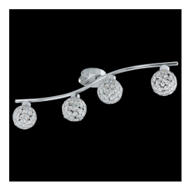 92594 Ribolla 4 Light Spotlight Polished Chrome