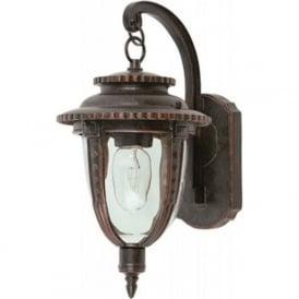 Lighting STL2/M St. Lewis 1 Light Outdoor Wall Light Weathered Bronze