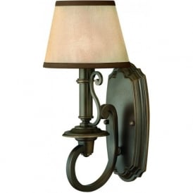Hinkley HK/PLYMOUTH1 Plymouth 1 Light Wall Light Bronze