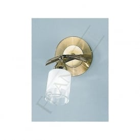 DP40011 Campani 1 Light Switched Wall Spotlight Gold
