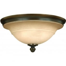 Hinkley HK/PLYMOUTH/F Plymouth 3 Light Ceiling Light Bronze