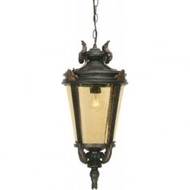 BT8/M Baltimore 1 Light Outdoor Lantern Weathered Bronze