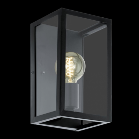 49394 Charterhouse 1 Light Wall Light Black