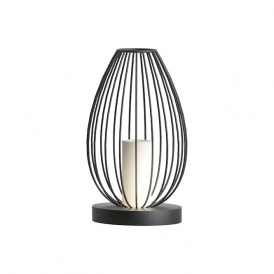 49481 Newtown 1 Light Table Lamp Black