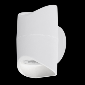 95075 Abrantes LED Outdoor Wall Light White IP44