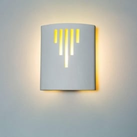 0205RUN Runswick 1 Light Gypsum Wall Light