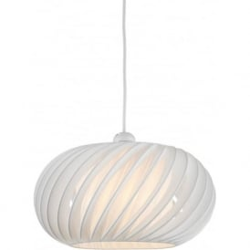 EXP6533 Explorer Non Electric Ceiling Pendant White
