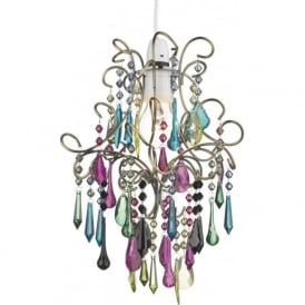 JOD65 Jodi Non Electic Pendant Multi Coloured