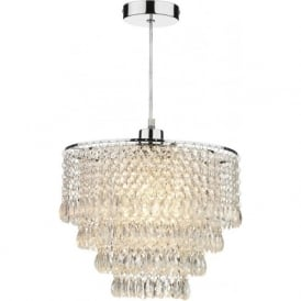 DIO6508 Dionne 1 Light Non Electric Pendant Clear