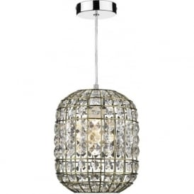 ZIN6575 Zing 1 Light Non Electric Pendant Antique Brass