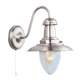 5331-1SS Fisherman 1 Light Wall Light Satin Silver