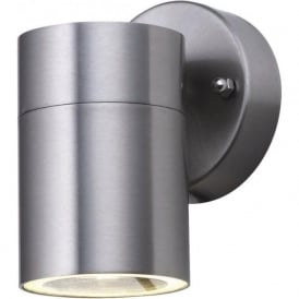 5008-1 Park Lane 1 Light Outdoor & Garden Wall Light Stainless Steel Polycarbonate Diffuser IP44