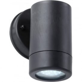 EL-40053 Icarus 1 Light Outdoor Wall Light Black IP44