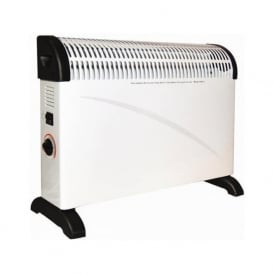 OH2K/5W 2000w / 2Kw Thermostatic Controlled Convector Heater Wall & Free Standing White