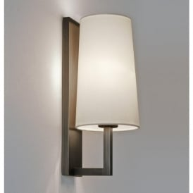 7023 Riva 350 Wall Light Bronze with Shade IP44