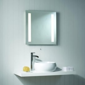 0440 Galaxy 2 Light IP44 Switched Bathroom Mirror Light