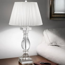 TL880/1166 Hugo Collection 1 Light Crystal Table Lamp
