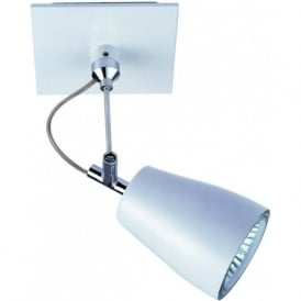 6004 Polar Single 1 Light Spotlight White