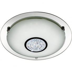 2773-31 LED Flush 1 Light Ceiling Light Polished Chrome
