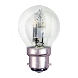 BC/B22 45mm Energy Saving Lamp Clear Halogen Round Ball Bulb