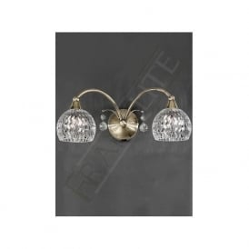 FL2296/2 Jura 2 Light Switched Wall Light Bronze