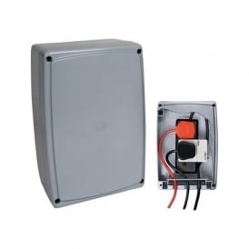 TimeGuard WPM02 Weatherproof Outdoor IP66 Power Enclosure with 2 Gang 13A Socket